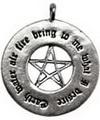 Fertility spell pendant