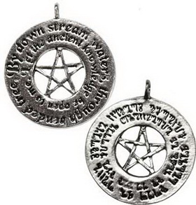 Secrets of Magic spell pendant