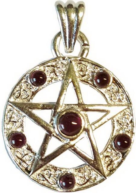 Pentagram Garnet