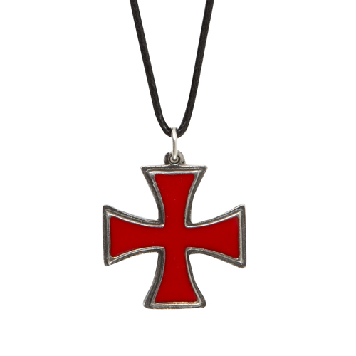 Knights Templar Pattee Cross Pendant