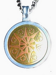 Earth Star Flower Talisman For Serenity & Inner Strength