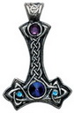 Thor's Hammer Pendant for Personal and Psychic Protection
