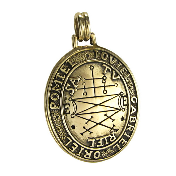 Bronze Talisman to Secure Help of Good Spirits Talisman