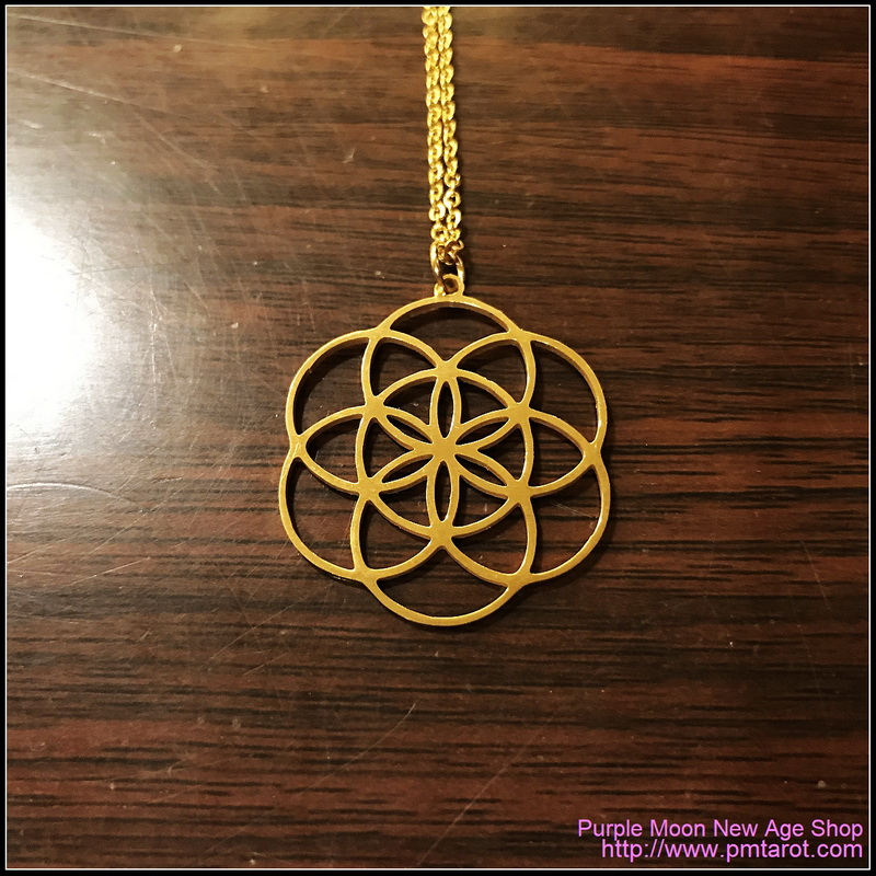 Seed of Life Gold Pendant