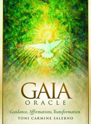 Gaia Oracle : Guidance, Affirmations, Transformation Book and Oracle Card Set
