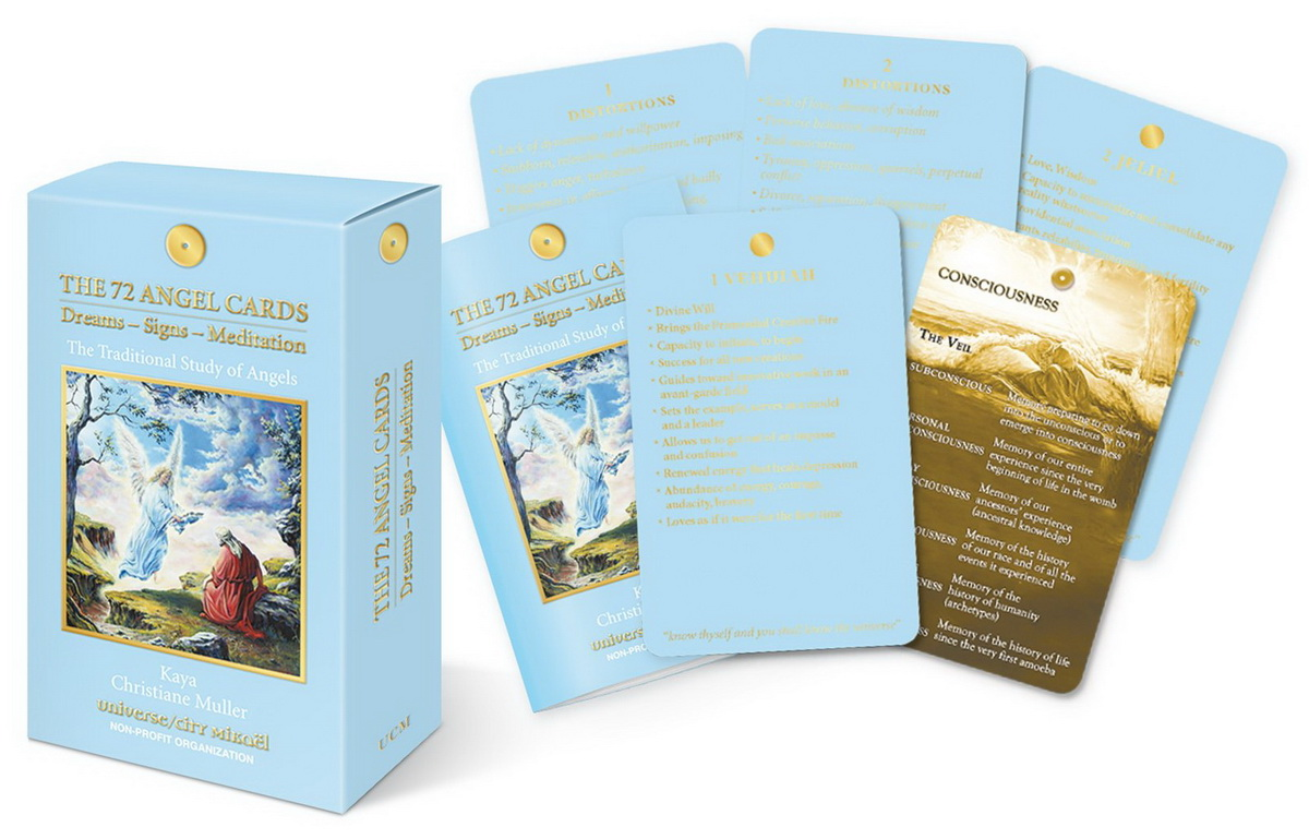 The 72 Angel Cards : Dreams-Signs-Meditation