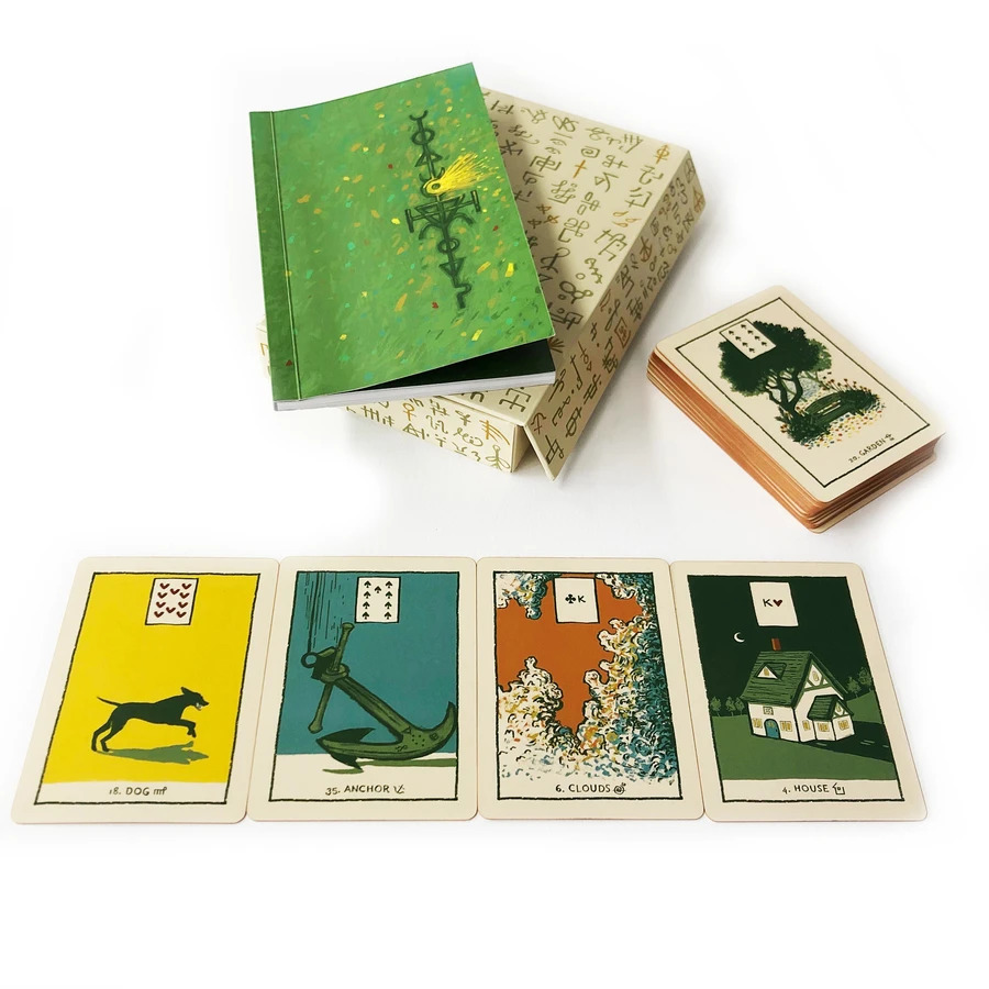 Green Glyphs Lenormand Third Limited Edition