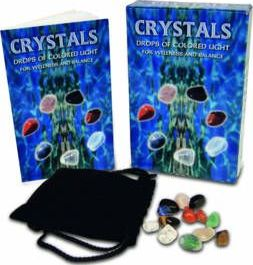 Crystals : Drops of Coloured Light for Wellness and Balance