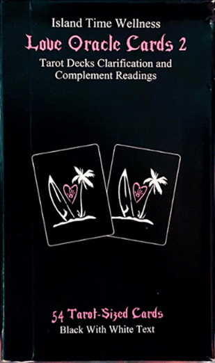 Island Time Wellness Love Oracle Cards Version II Normal Size