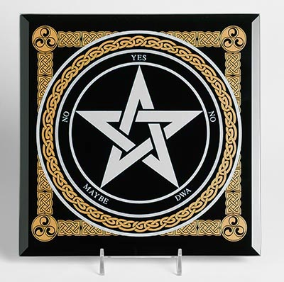 Pentagram Glass Dowsing Board