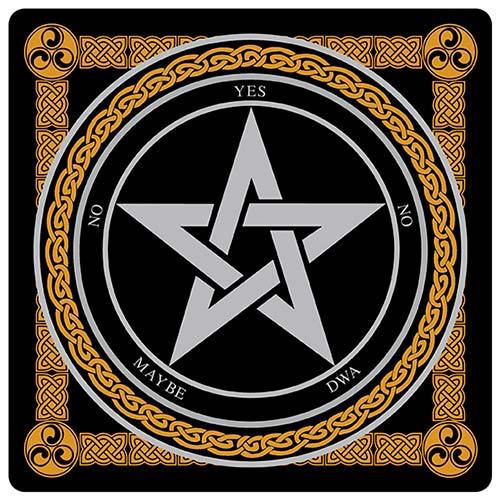 Pentagram Dowsing Board, Plastic