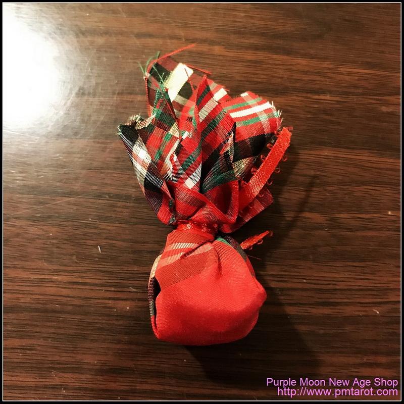 Voodoo Hoodoo Mojo Curio Mini Bag - Fast Luck
