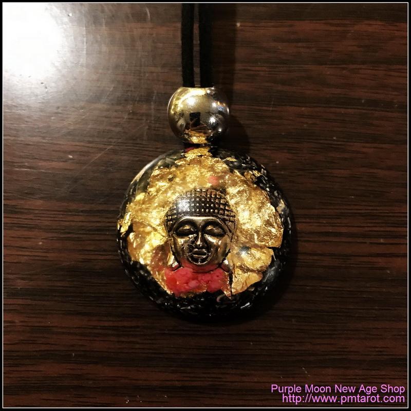 Orgone Pendant Buddha