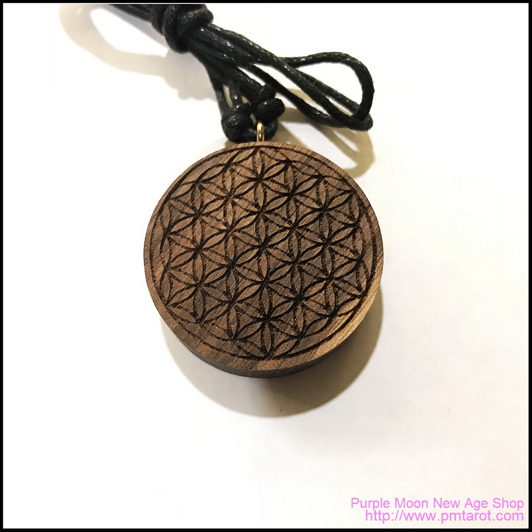 Handmade Orgone Pendant in Walnut Wood