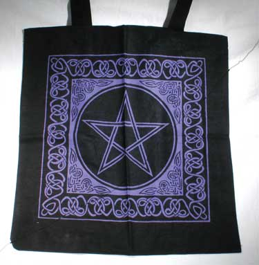 Celtic Pentacle Tote Bag