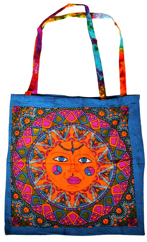 Multi Color Sun Tote Bag