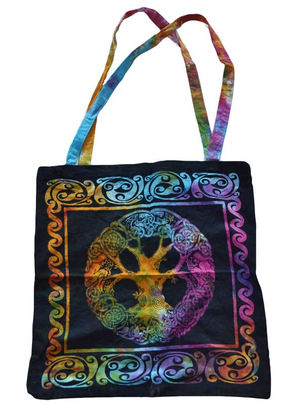 Mandala Tree Tote Bag
