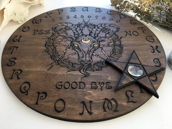 Ouija board - Baphomet