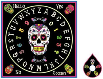 Day of the Dead Ouija Board