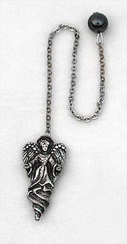 Angel with Hematite bead