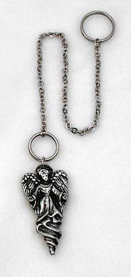 Angel, Silver, with Ring