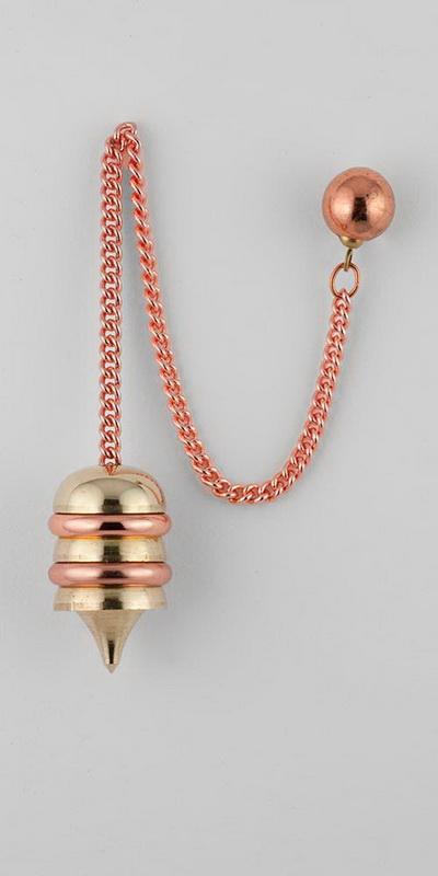 Osiris Multi-Metal Healing Pendulum
