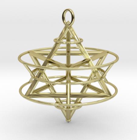 Cosmic Merkaba Healing Pendulum