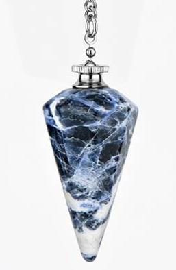 Brazilian Sodalite Bearing Balanced™ Pendulum