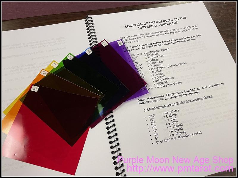 Universal Pendulum Manual with Colour Filter Set