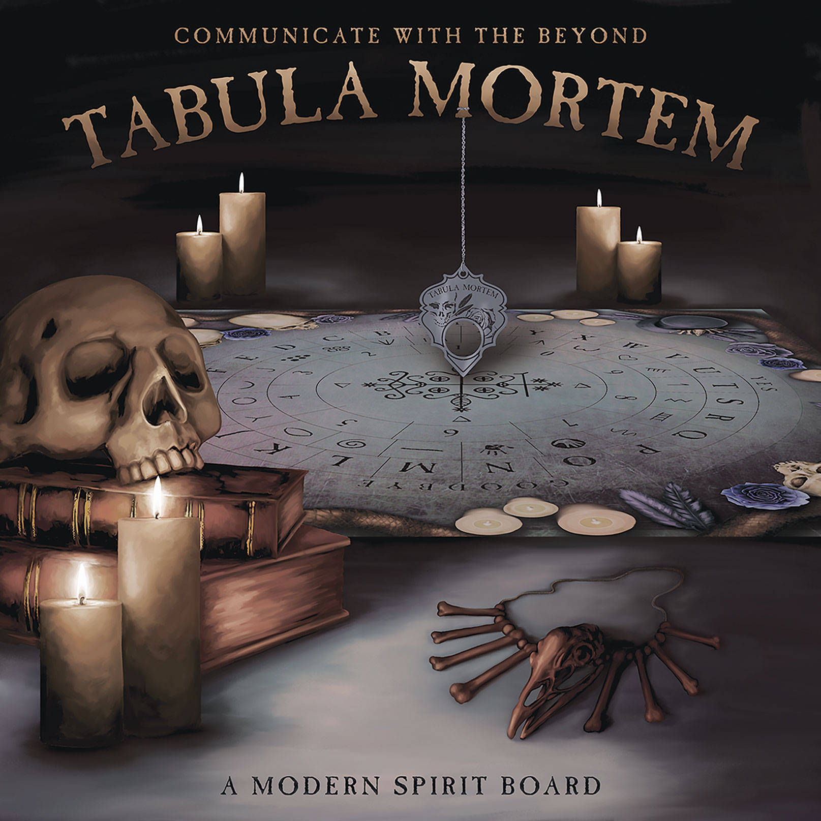 Tabula Mortem: A Modern Spirit Board