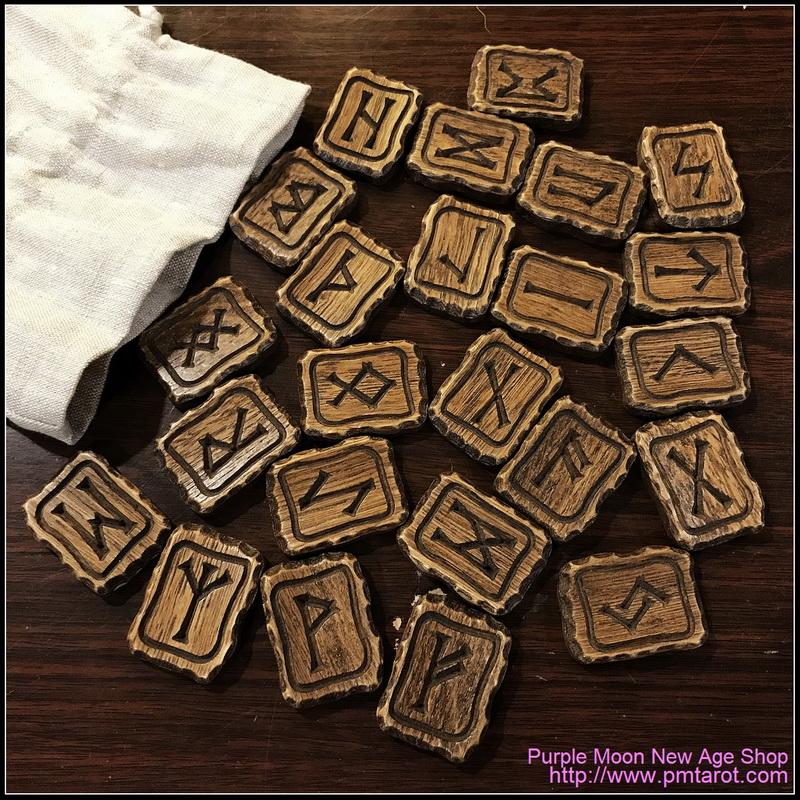 橡木制占卜石