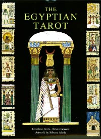 The Egyptian Tarot Deck & Book Set