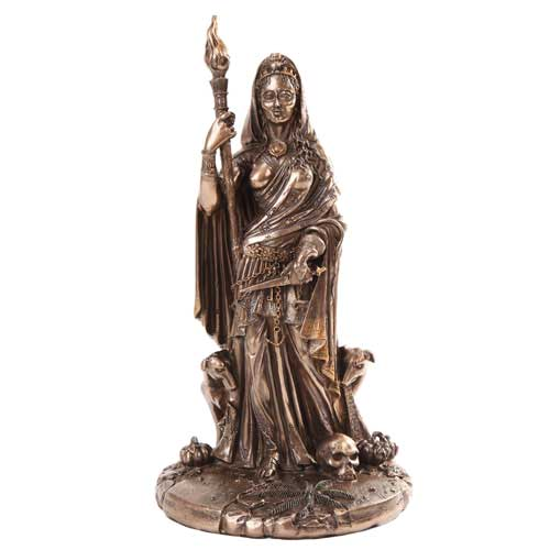 Goddess Hecate Statue