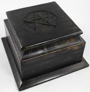 Pentagram Altar Box