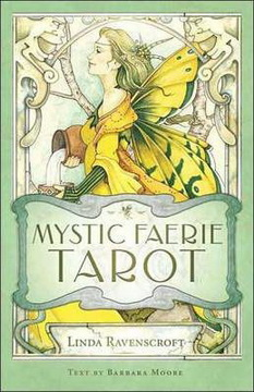 Mystic Faerie Tarot Deck & Book Set