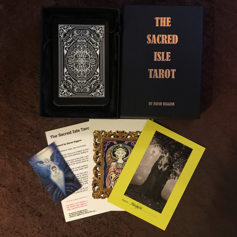 The Sacred Isle Tarot Black Border Limited Edition