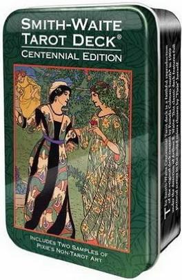 Smith-Waite Centennial Tarot in a Tin (Pocket Size)