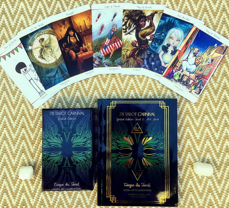 78 Tarot 3rd Limited Edition -  Carnival Cirque du Tarot Deck and Book Set