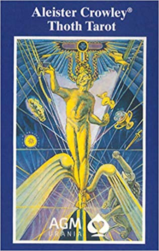 Aleister Crowley Large Thoth Tarot Deck -  German Version