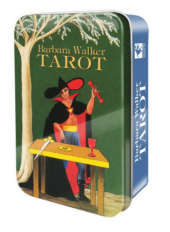 Barbara Walker Tarot in a Tin (Pocket Size)