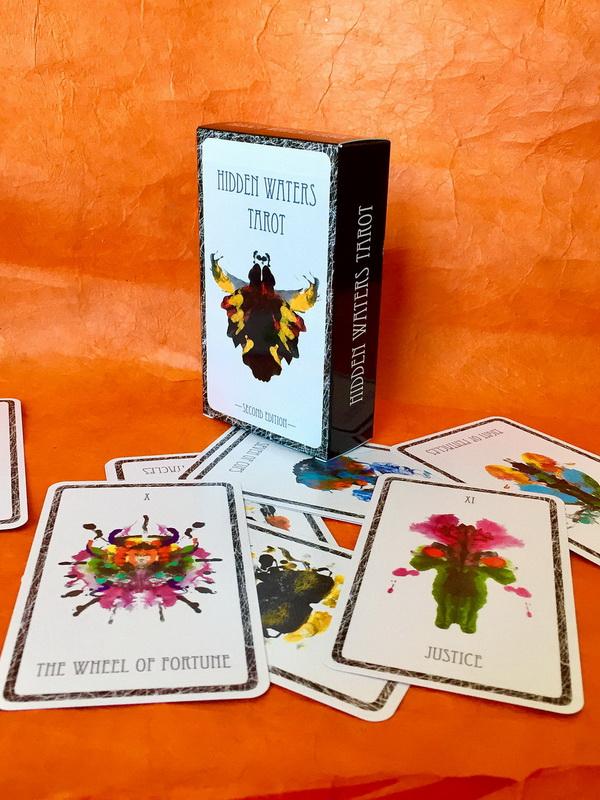 Hidden Waters Tarot Deck 2nd  Edition