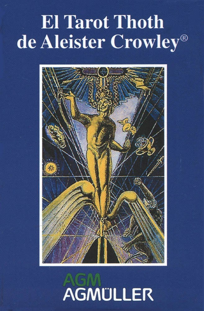 Crowley Thoth Small Tarot Deck - Spanish Version