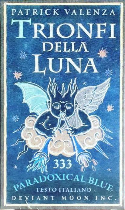Trionfi Della Luna Paradoxical Blue Limited Edition (Italian Text)