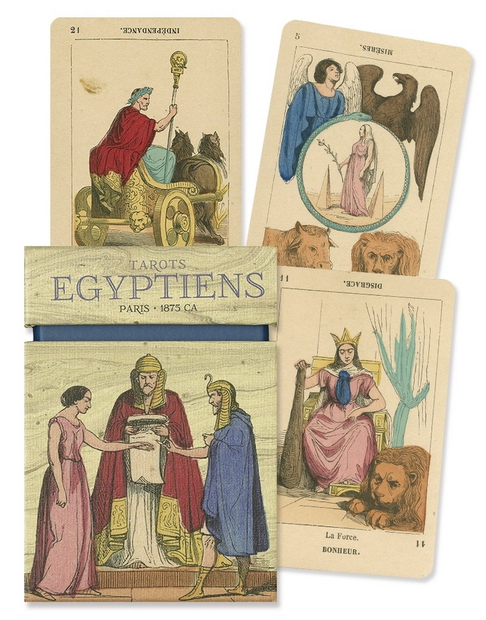 Tarot Egyptiens: Paris 1875 ca