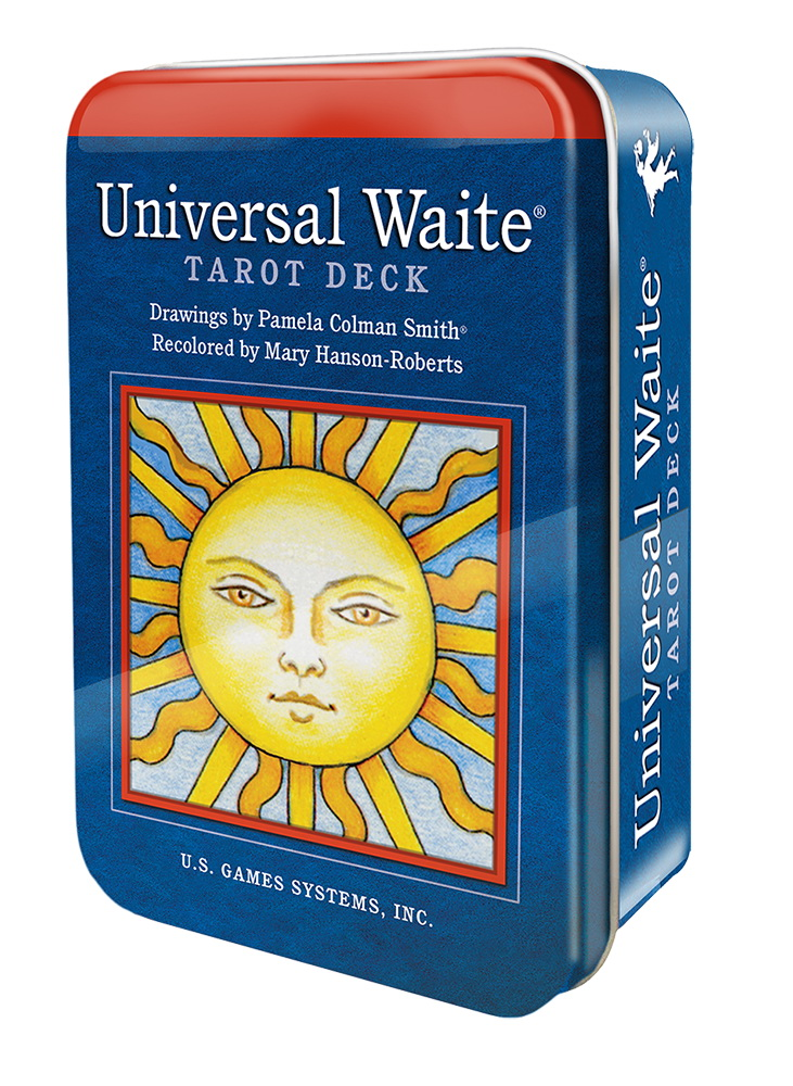 Universal Waite Tarot Deck in a Tin