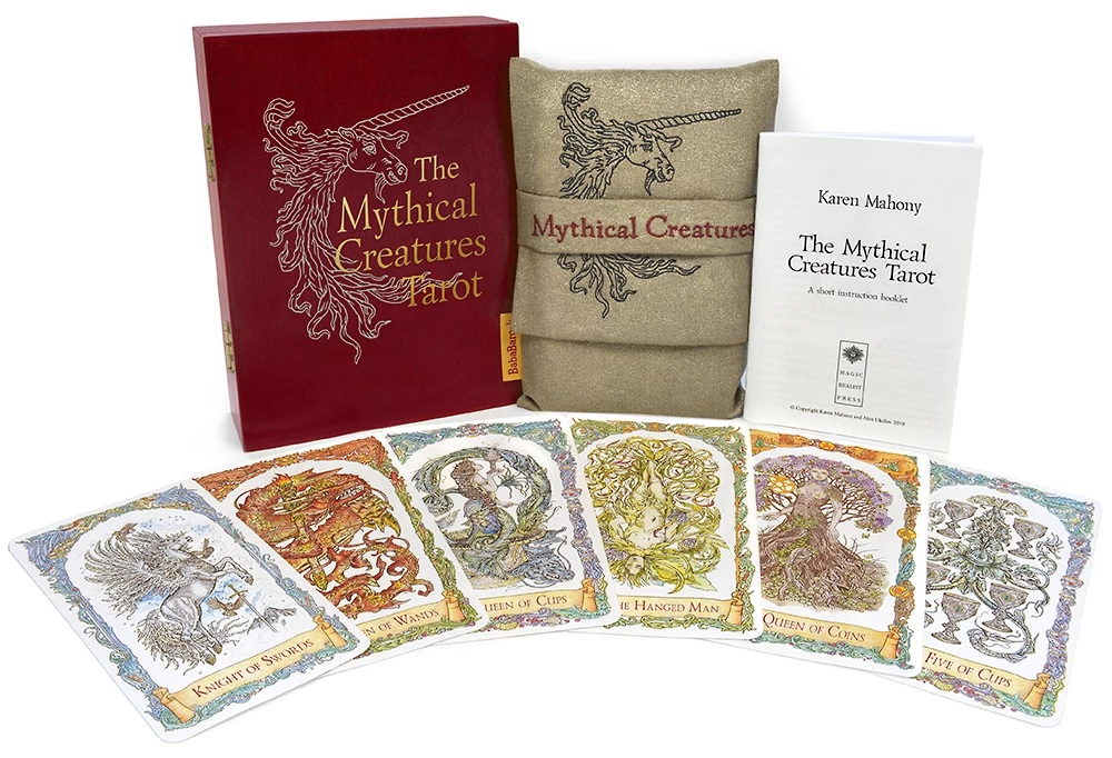 The Mythical Creatures Tarot Gilded & Water-Coloured Limited Edition