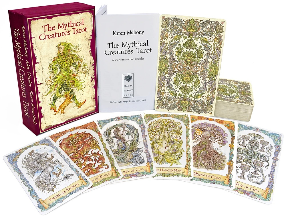 The Mythical Creatures Tarot Gilded & Water-Coloured Standard Edition