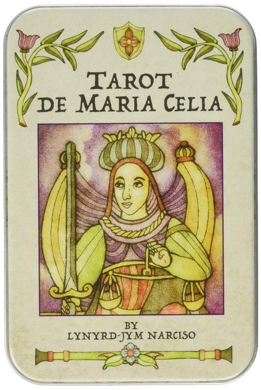 Tarot de Maria Celia in a Tin (Pocket Size)