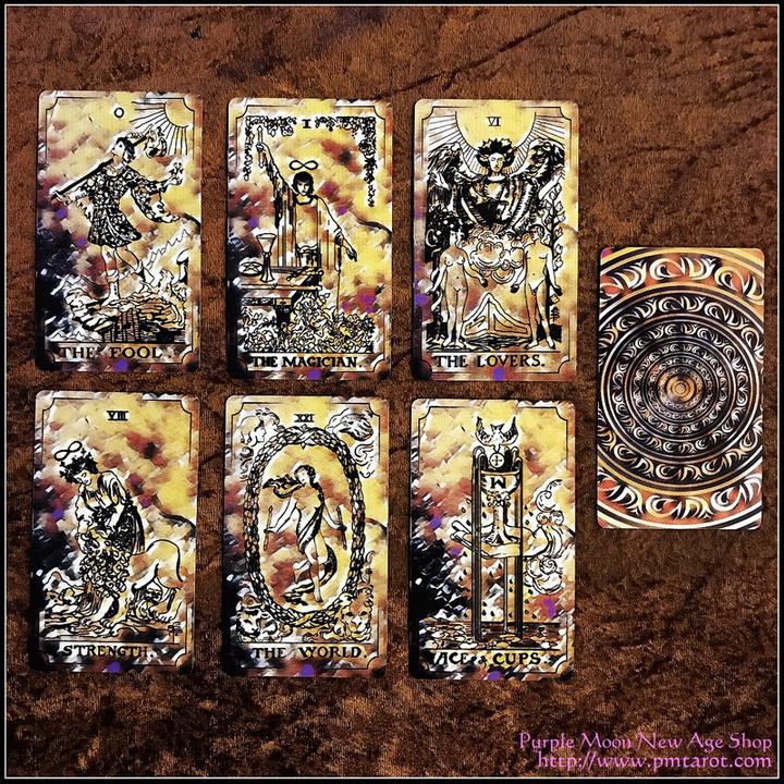 Rider Waite Luna Radiant Tarot Deck
