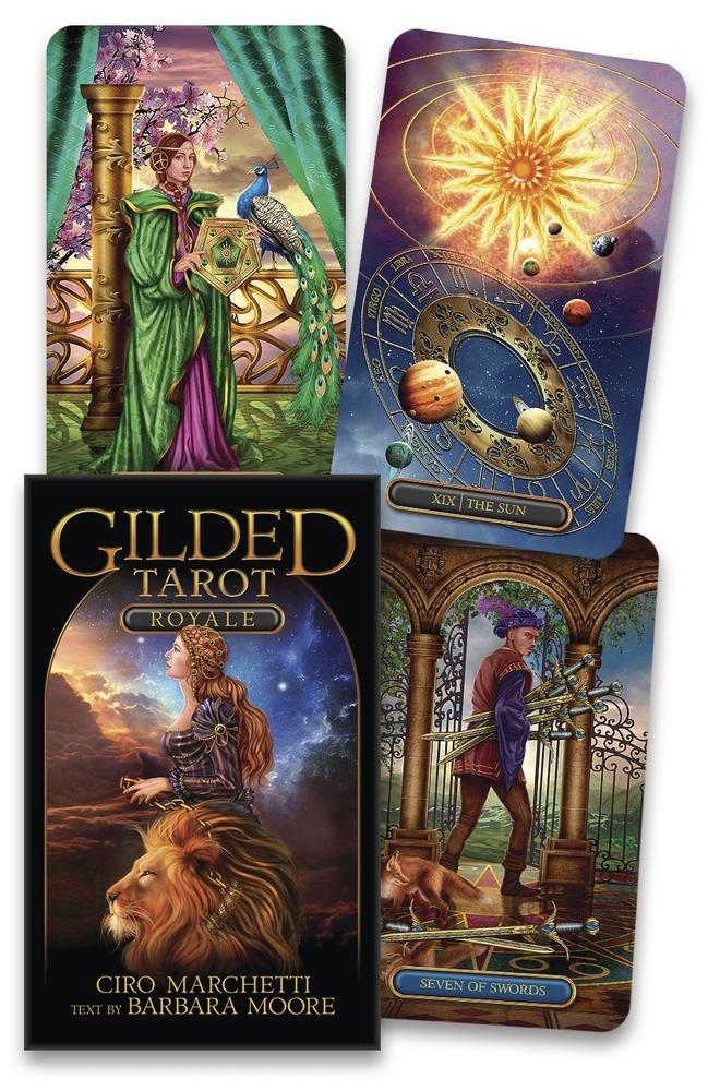 Gilded Tarot Royale Deck